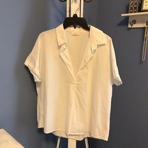 Urban Outfitters Boxy Popover Blouse - medium
